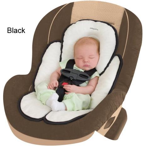 Snuzzler Infant Support Insert - Velboa - Black
