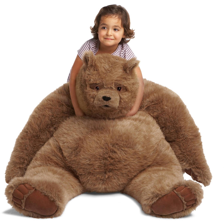 Manhattan Toy, Kodiak Bear Jumbo Plush Toy by Manhattan Toy