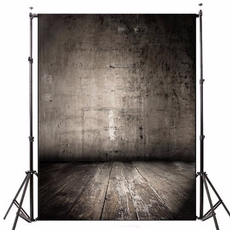 5x7FT Photography Background Backdrop Wooden Wall Floor Vinyl Photo Studio Props - Foam Photography Props
