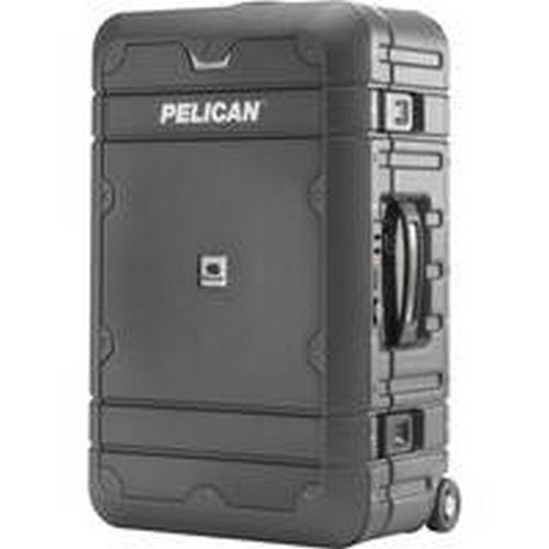 PELICAN LG-BA22-GRYBLK 22 Carry-on Elite ProGear(TM) Basic Luggage (Gray with Black Trim)
