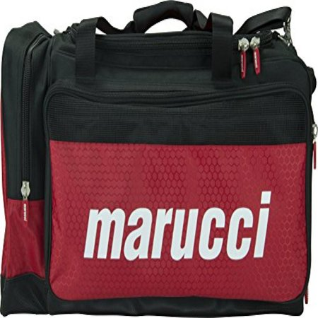 Marucci Team Duffel Bag, Black/Red