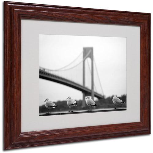 Trademark Art 'Verrazano' Matted Framed Art by Yale Gurney