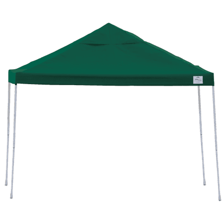 Pop-Up Canopy Straight Leg 12 x 12 ft. with Roller Bag Green