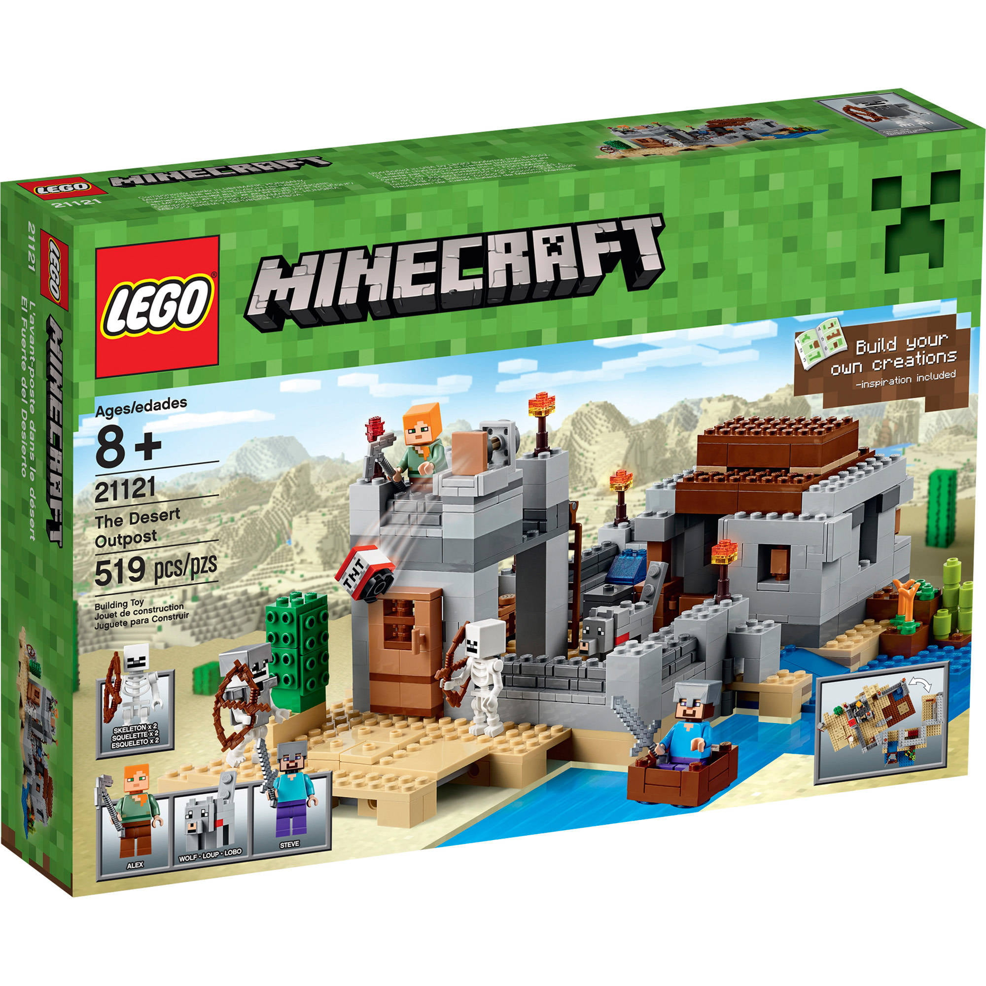 Walmart Minecraft Toys For Boys : Lego minecraft the iron golem walmart
