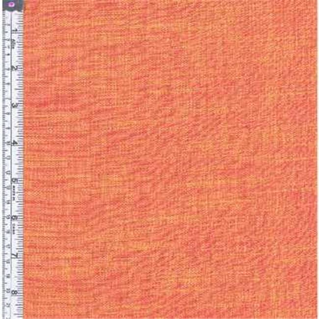 Textile Creations AC-007 Ace Of Slubs Fabric, Red-Yellow, 15 yd.