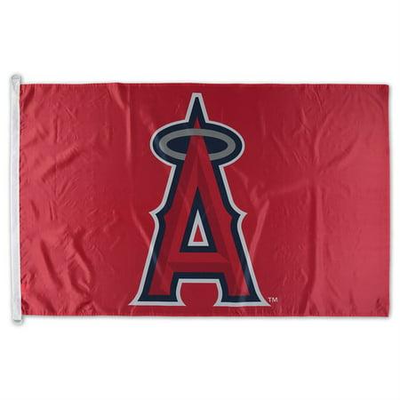WinCraft Los Angeles Angels 3' x 5' Single-Sided Team Flag ()