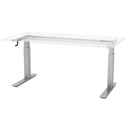 ESI Ergonomic Solutions Q Crank Standing Desk Walmartcom