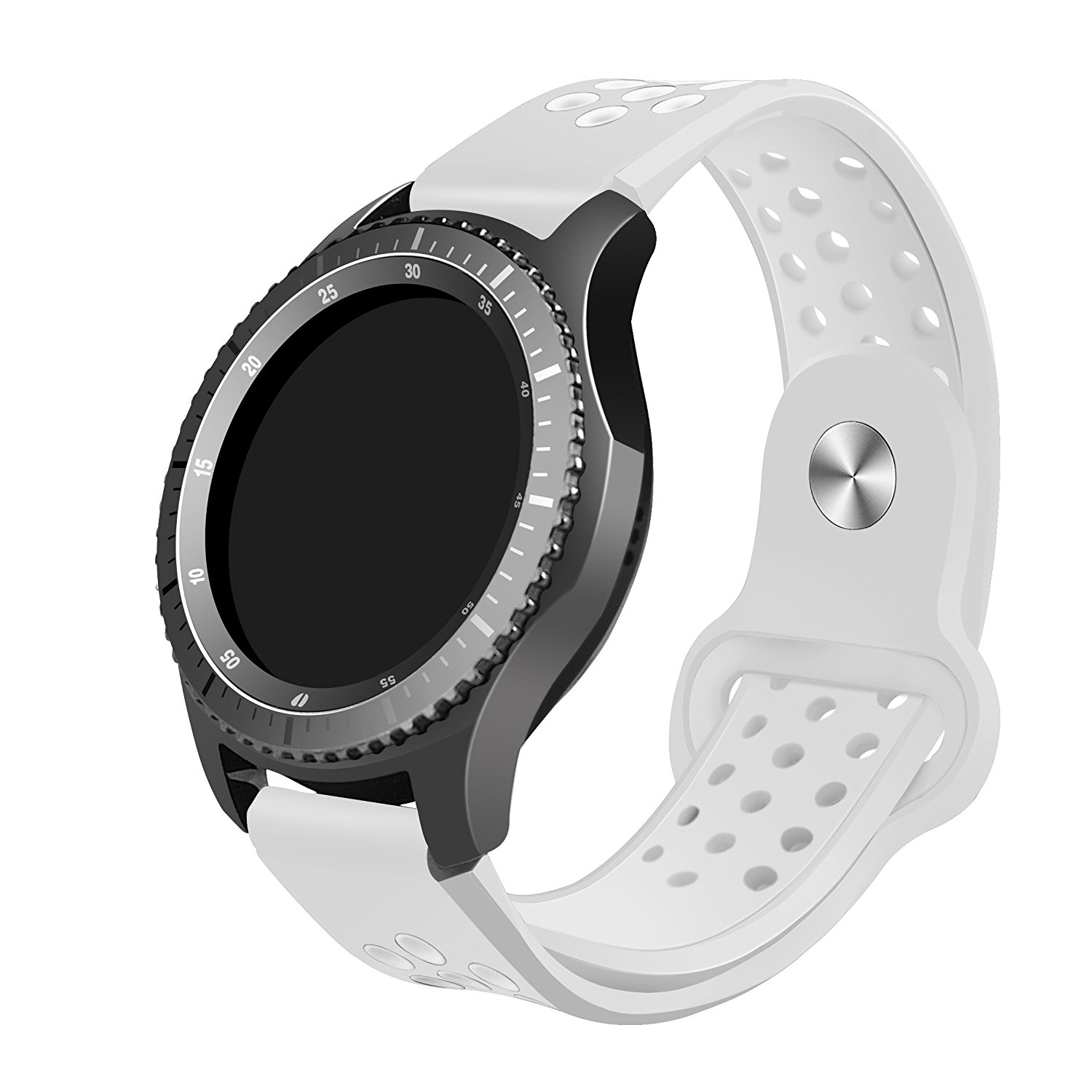 Samsung Gear S3 Band, Kutop Soft Silicone Band Replacement Sport Strap for Gear S3 Frontier and Gear S3 Classic for Man and Woman Accessories