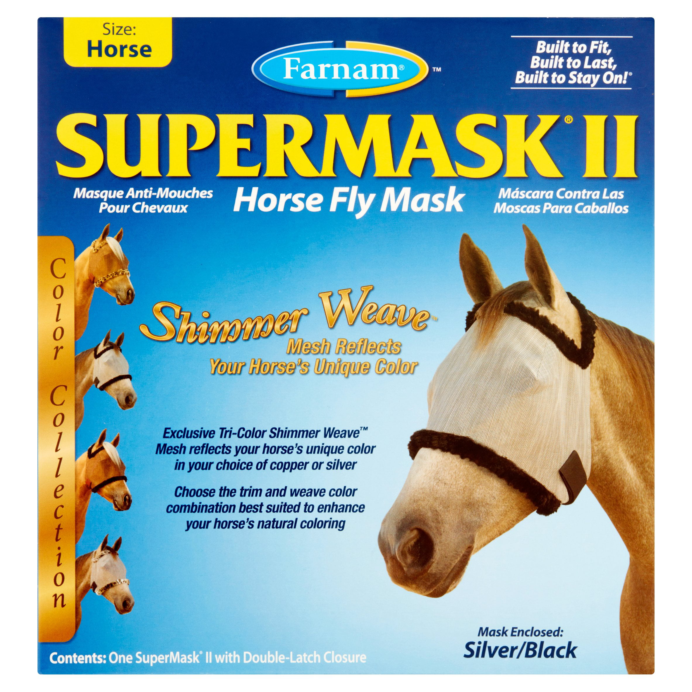 Farnam 100503737 Supermask Ii Without Ears by Farnam Horse Products A Division of Farnam Companies, Inc.