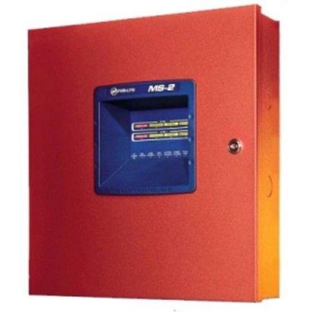 Fire-Lite Alarms Honeywell MS-2-L8 Firelite Fire Alarm Control Panels