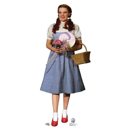 Dorothy - Wizard of Oz 75th Anniversary Cardboard Cutout Life Size Party Prop Decor Birthday Party Supplies Size - 61