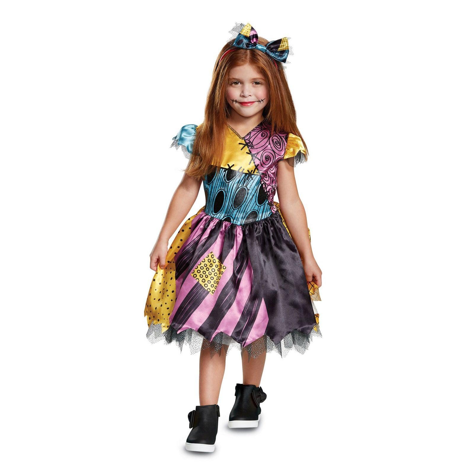 The Nightmare Before Christmas Sally Classic Toddler Costume Walmart Com Walmart Com