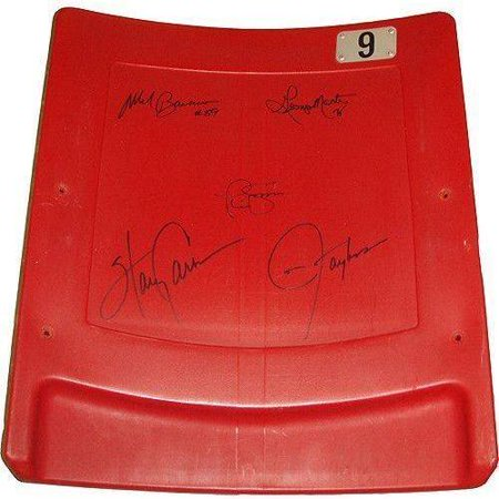New York Giants Super Bowl XXV 5 Signature Seatback (LE 100) by