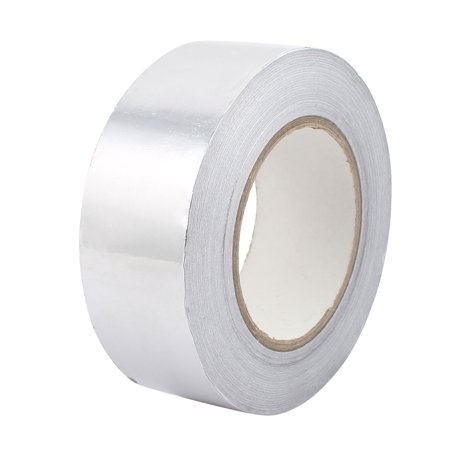 e96d25337dd 45mm x 50M Aluminum Foil Tape HVAC Heat Shield Duct Sealing Self Adhesive -  image 3 ...
