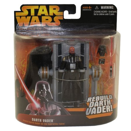 Darth Vader Deluxe (Star Wars Revenge of the Sith 2005 Deluxe Darth Vader on Operating Table Action)
