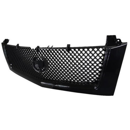 Spec D Tuning Hg Ecld02jm Rs Front Grille For 02 To 06 Cadillac Escalade  Gloss Black   17 X 17 X 48 In