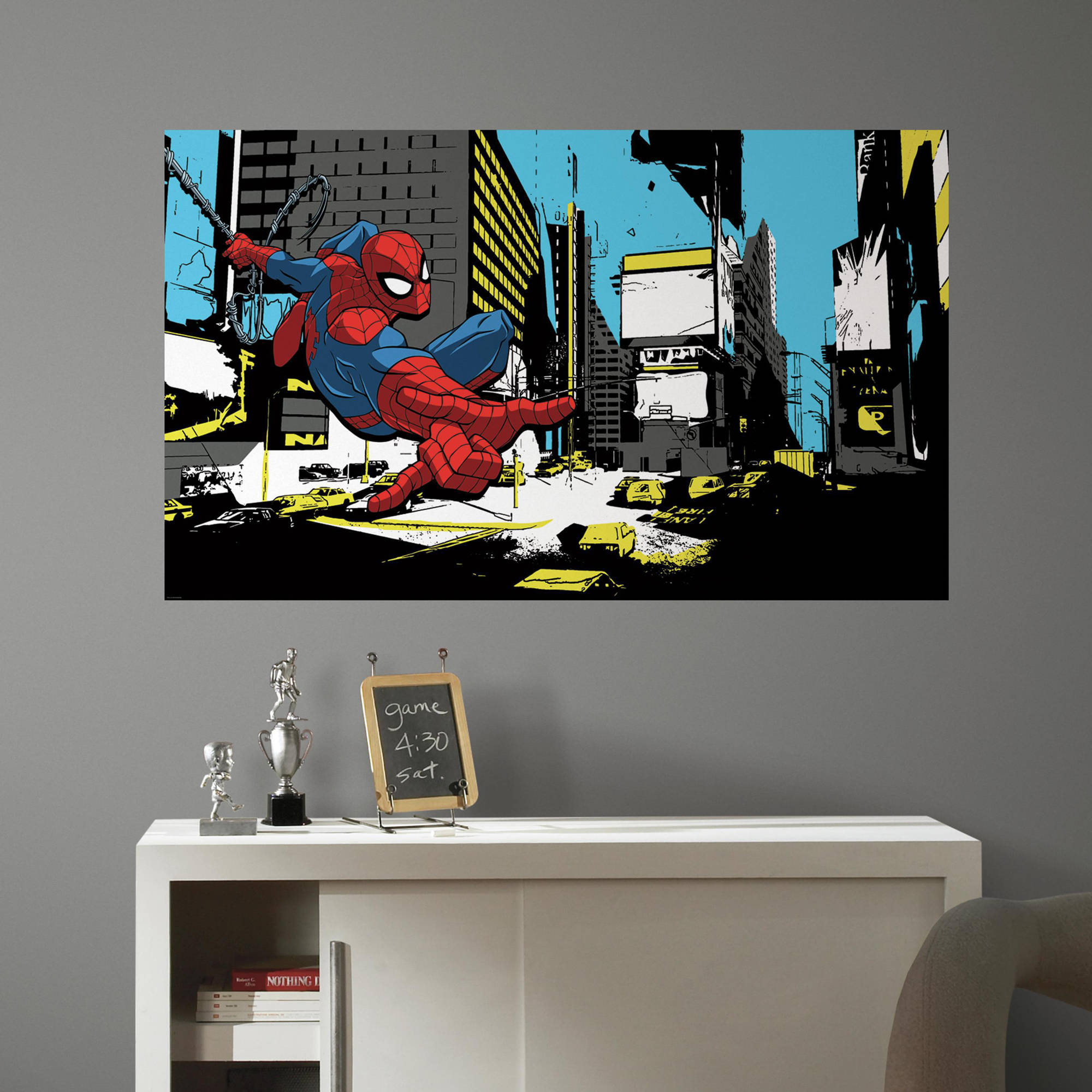 RoomMates Spiderman Classic Peel and Stick Mural