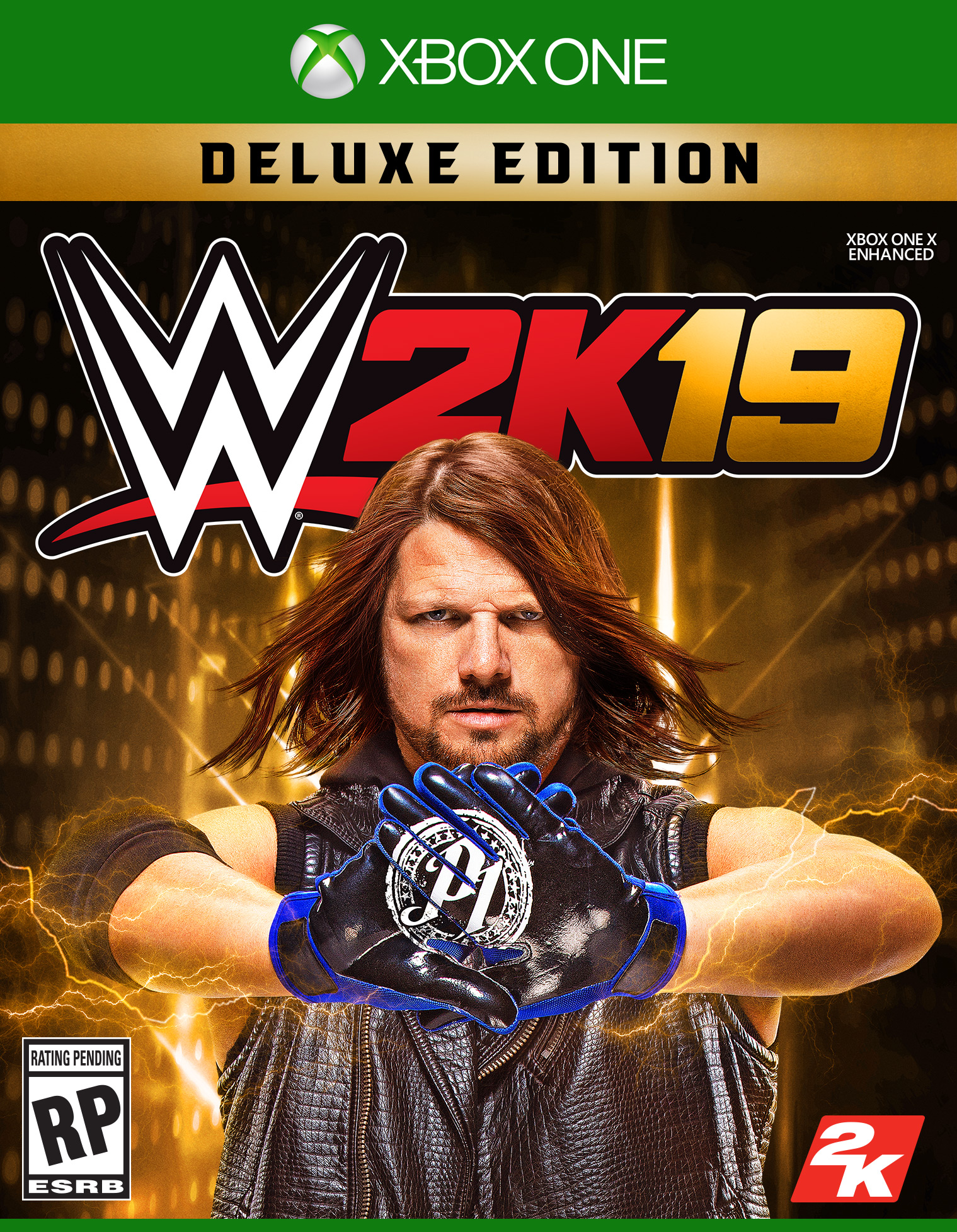 WWE 2K19 Deluxe Edition, 2K, Xbox One, 710425590733 by 2K