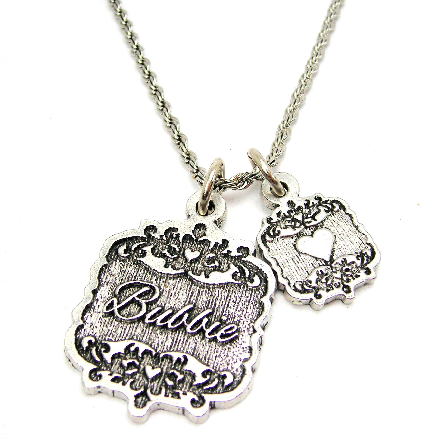 Chubby Chico Charms Nonna Victorian Scroll Key Chain