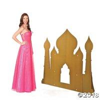 Arabian Palace Silhouette Cardboard Stand-Up