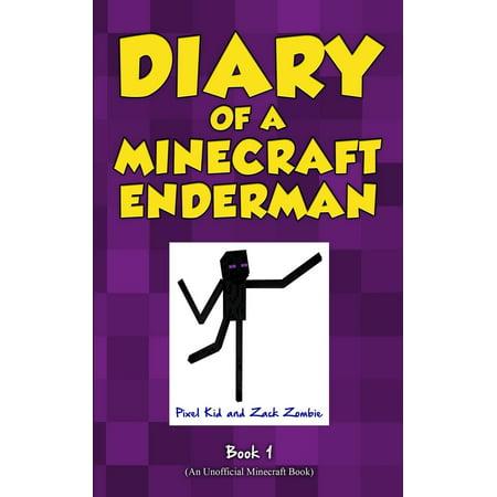 Minecraft Pixel Art Halloween (Diary of a Minecraft Enderman Book 1 : Enderman)