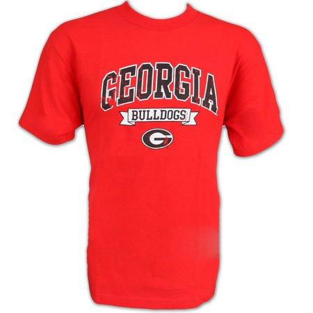 Georgia Bulldogs Mens Tshirt Red L