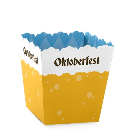Oktoberfest - Party Mini Favor Boxes - German Beer Festival Treat Candy Boxes - Set of 12