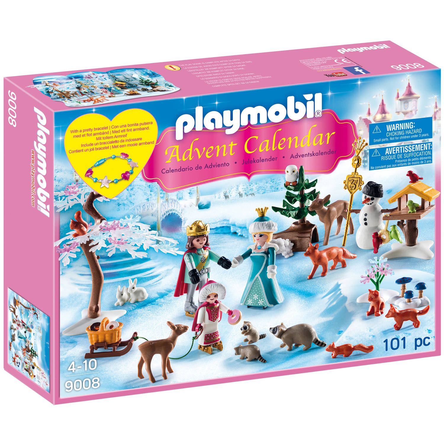 "PLAYMOBIL Advent Calendar ""Royal Ice Skating Trip"""