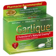 Best Garlic Supplements - Garlique Size 30ct Garlique Cardiovascular Dietary Supplement Review