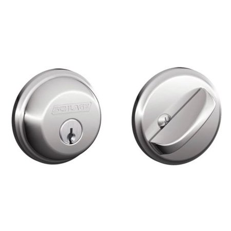 (Schlage B60 Single Cylinder Grade 1 Deadbolt from the B-Series)