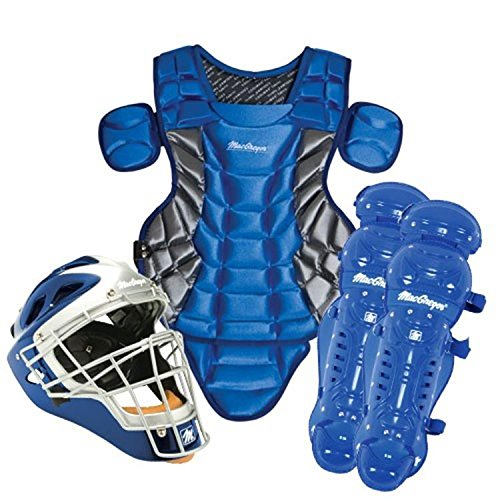 Varsity Catcher's Gear Pack in Black/Silver (Ages 15+)