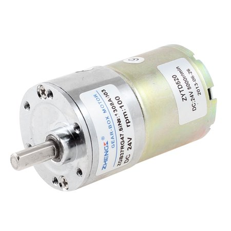 DC 24V 100 RPM High Speed Metal Gear Box Gearbox Electric (Aeg Metal Gearbox)