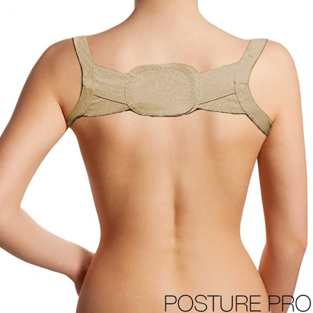Therapeutic Back and Shoulder Posture Correcting Chest Belt (Nude) XL
