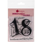 """Woodware Clear Stamps, 3.5"""" x 3.5"""""""
