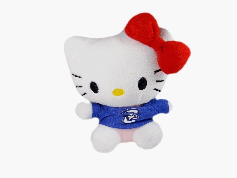 Hello Kitty Goes to College Creighton University Bluejays Plush Toy by Plushland