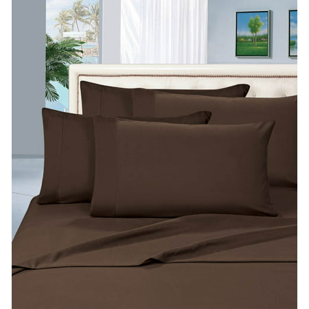 Silky-Soft 2-Piece Pillowcases, King Size - Chocolate Brown