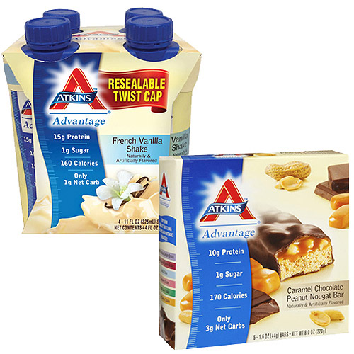 Atkins Weight Loss Value Bundle - Select 1 Bar and 1 Shake
