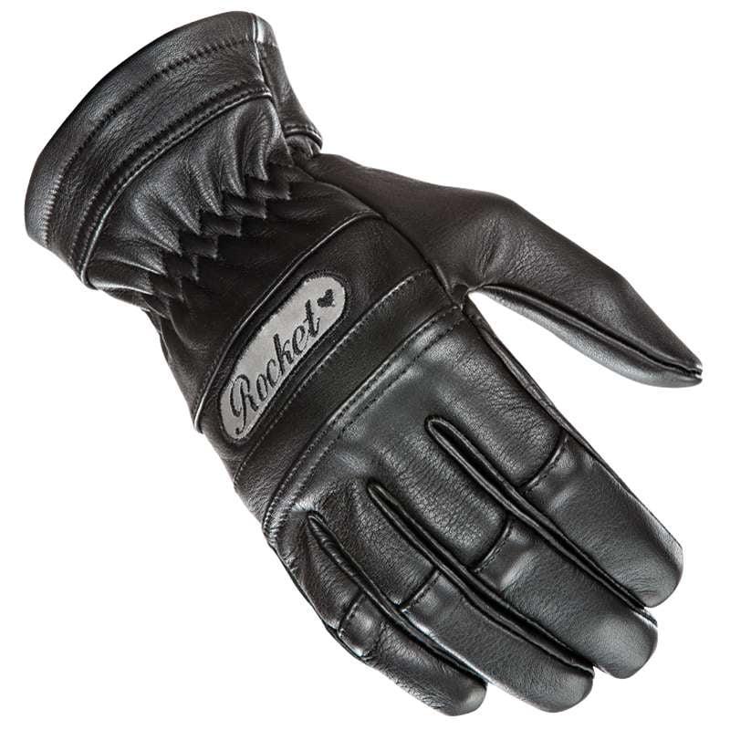 Joe Rocket Classic 2015 Ladies Leather Gloves Black