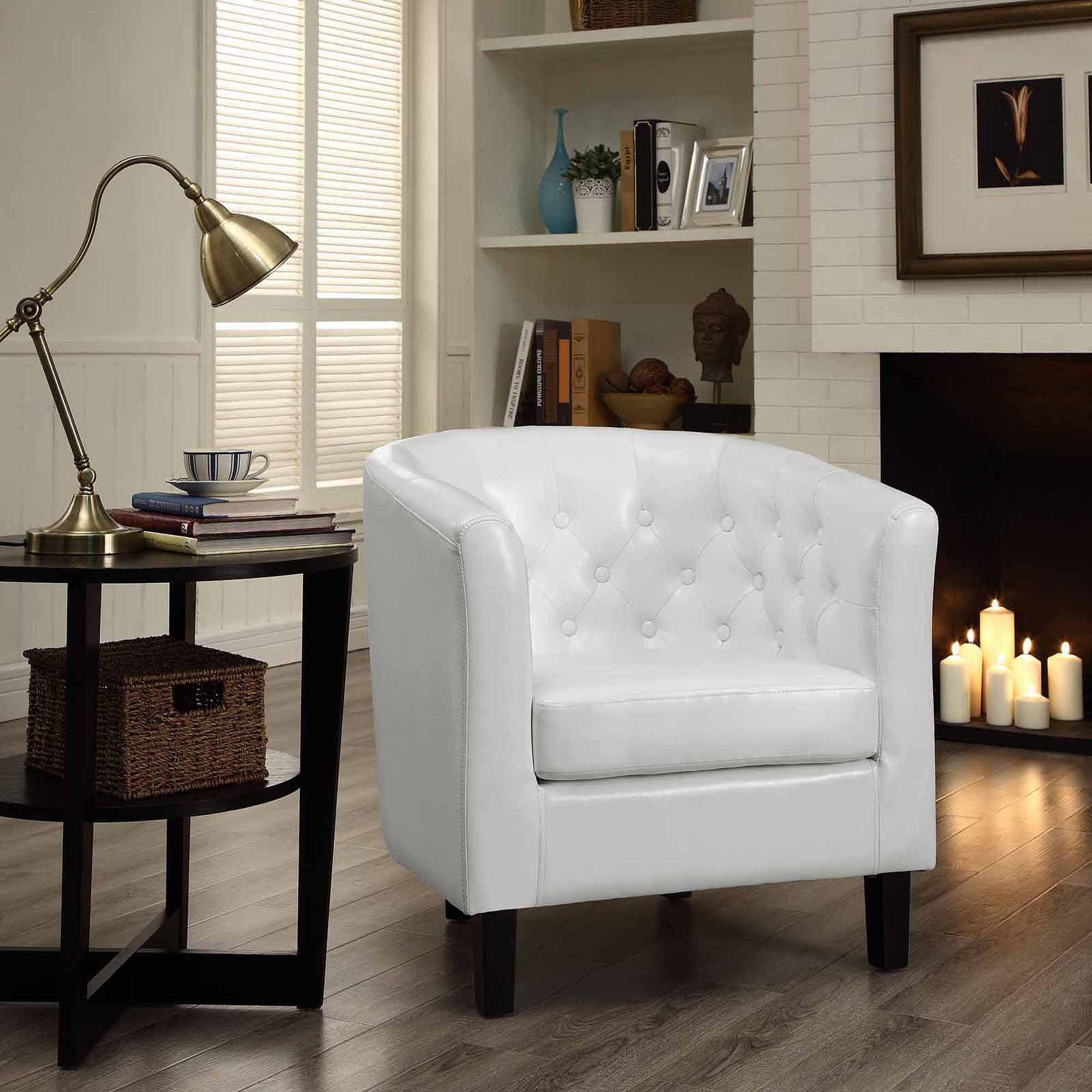 Modway Prospect Leatherette Armchair, Multiple Colors by Modway