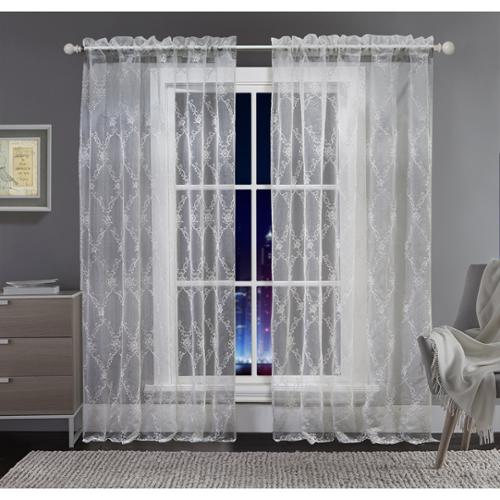 VCNY  Alexa Sheer Tonal Curtain Panel