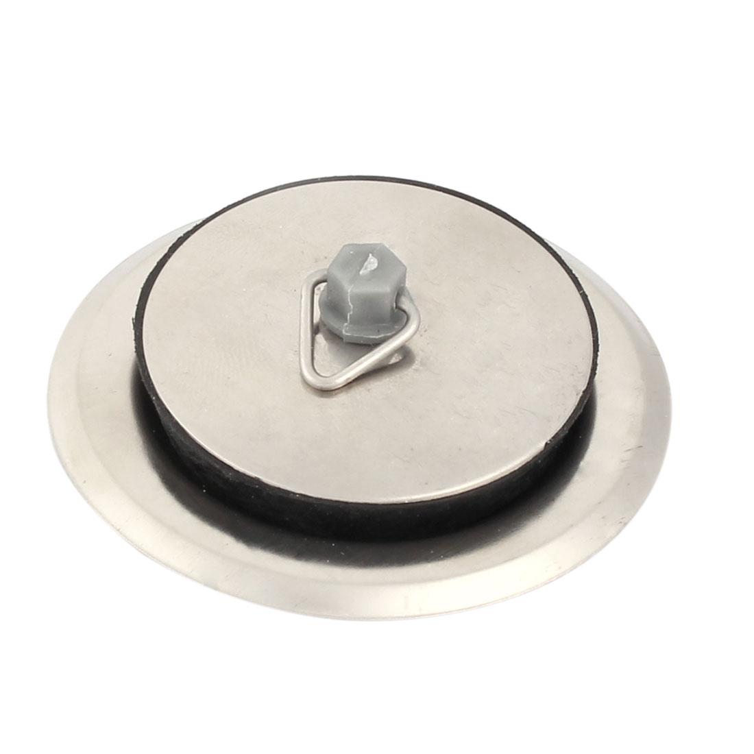 Kitchen Bathroom Stainless Steel Sink Strainer Disposal Basin Drain - image 3 of 3