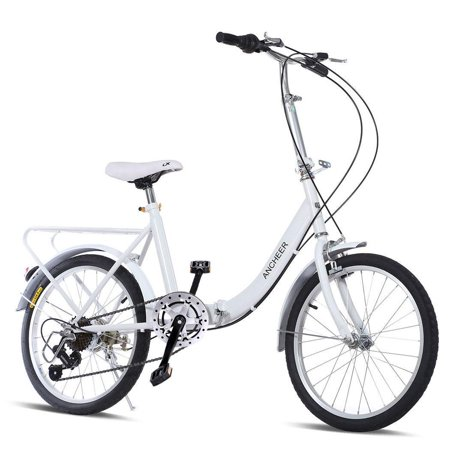 20-Inch Folding Bike New 7 speed Loop Folding Bike for commuting ...