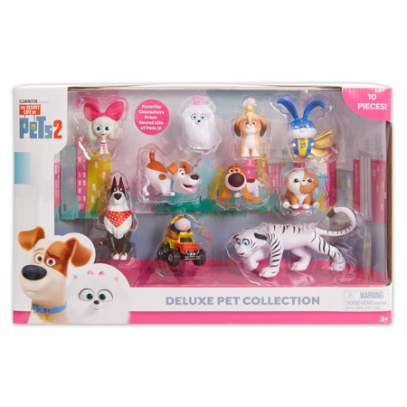 Secret Life of Pets 2 Deluxe Pet Collection 10-Pack