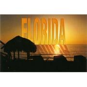 Jenkins Florida Postcard- Coastal Sunset (pack Of 700)