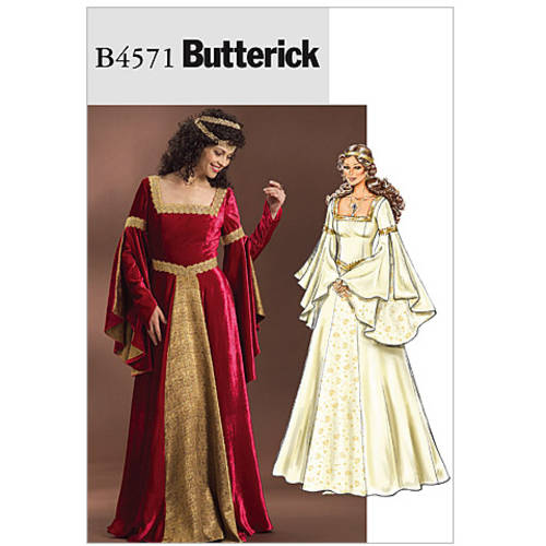 Butterick Misses' Costume, AA (6, 8, 10, 12)
