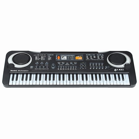 Kid's Children 61 Keys Small Music Electronic Digital Keyboard Key Board Electric Organ Piano Toys Christmas Gift](black friday electric piano deals)