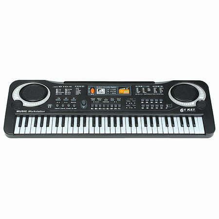 Kid's Children 61 Keys Small Music Electronic Digital Keyboard Key Board Electric Organ Piano Toys Christmas Gift