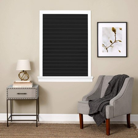 Black Mini Blinds Walmart.Cordless Vinyl Mini Blind Black 24 X 64