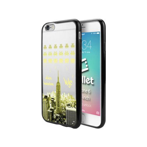 Cellet TPU/PC Proguard Case with Alien Invasion for Apple iPhone 6