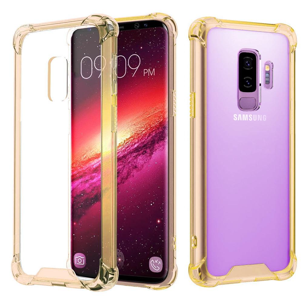 Samsung Galaxy S9 Plus Full Body Hybrid TPU Transparent Case Cover